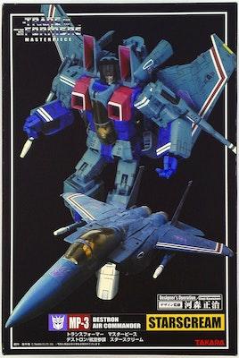 Transformers Masterpiece Starscream MP3 Takara Tomy Hasbro