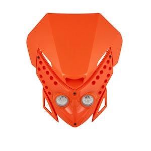 Viper Motocross Front Headlight - Orange