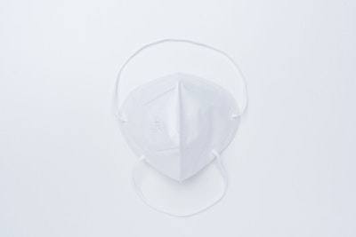 SoftMed N95 Flat folded particular RESPIRATOR AND SURGICAL MASK on comfort headloop