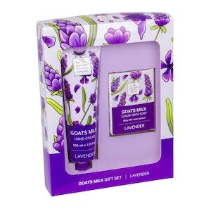 The Australian Cosmetics Company Goats Milk Lavender Hand Cream & Body Soap