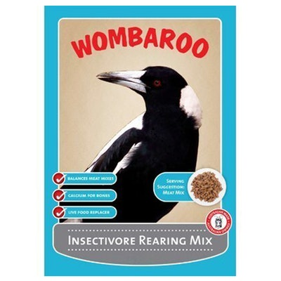Wombaroo Insectivore Carnivorous Bird Rearing Breeding Supplement - 2 Sizes