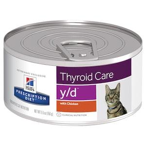 Hill's Prescription Diet Cat Y/D 156g x 24g