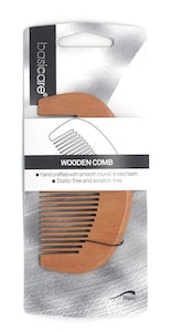 Basic Care Wooden Comb 10cm