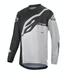 Alpinestars Youth Racer Long Sleeve Jersey Black-White