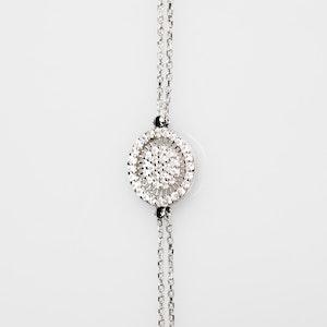 I Dream of Silver Sterling-Silver Thin Tennis Bracelet