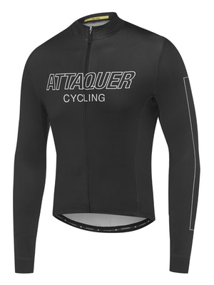 Attaquer All Day Outliner Long Sleeved Jersey Black