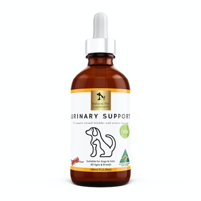 Natural Pet Supplements Urinary Support for Dogs and Cats, Herbal Blend