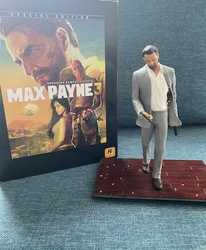 Max Payne 3 Collectors Statue