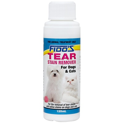 Fidos Dogs & Cats Soap Free Tear Stain Remover 125ml