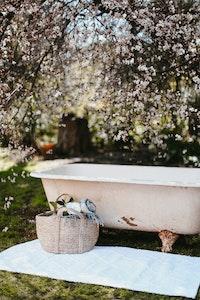 Diamond Bath Mat