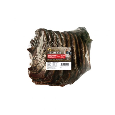 EVOLUTION NATURALS Kangaroo Rib Rack Dog Treat 1 Piece