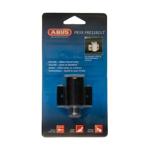 ABUS Window Press Bolt - Black