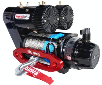 Runva EWS10000 PREMIUM 12V with Synthetic Rope - f