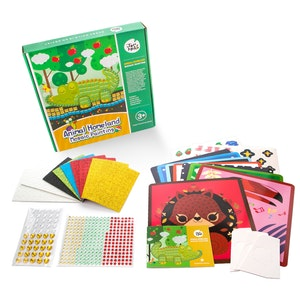 JarMelo MOSAICS CRAFT KIT - ANIMAL HOMELAND