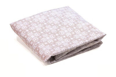 Alma Papa Lollipop Fitted Sheets Henna Brown
