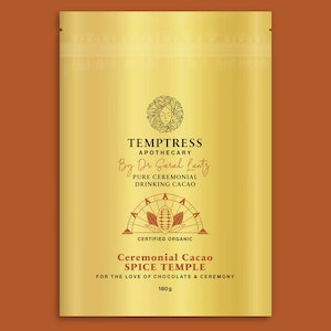 Temptress Apothecary Ceremonial Cacao – Spiced Temple
