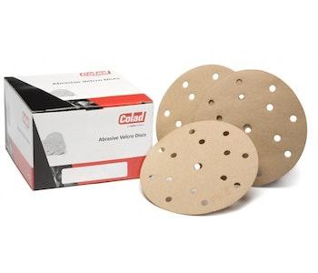 Colad Velcro Discs 6'' 15 Hole Packs of 100