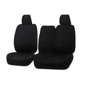 All Terrain Car Seat Covers For Hyundai Iload Tq 1-5 Series 2008-2020 Single/Crew Cab Utility Van | Black