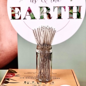 Us and the Earth Sisal Straw Cleaner