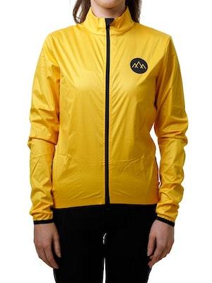 Band of Climbers Women's Izoard Wind Jacket - Yellow
