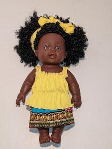 Designed by Florence Thandiwe Ima Doll