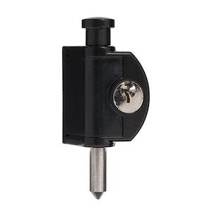 ABUS Mini Push Bolt - Black