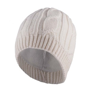Sealskinz Cable Knit Beanie Cream