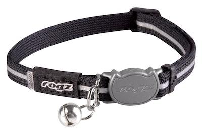 Rogz Alleycat Safeloc Collar Black