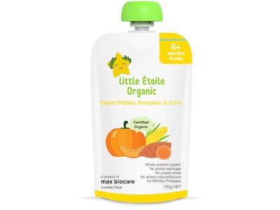 Max Biocare Little Etoile Organic - Sweet Potato, Pumpkin & Corn