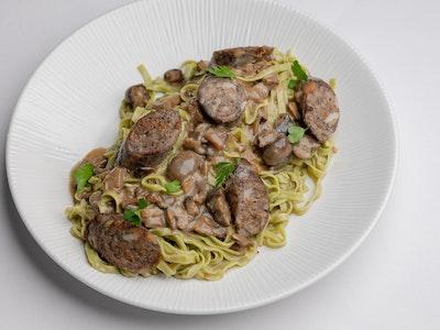 House made Green Tagliolini Pasta - Serves 2