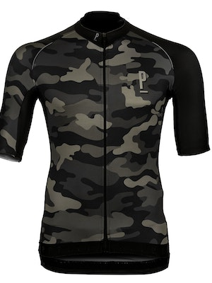 Paria Race Fit Cycling Jersey Camo