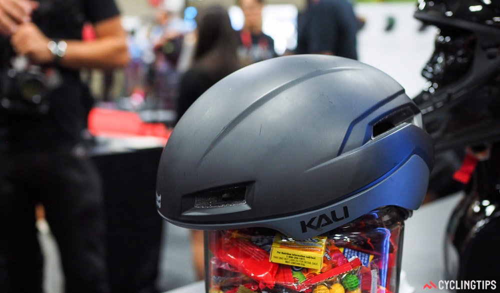 Kali aero road cycling helmet InterBike 2016 CyclingTips 43052