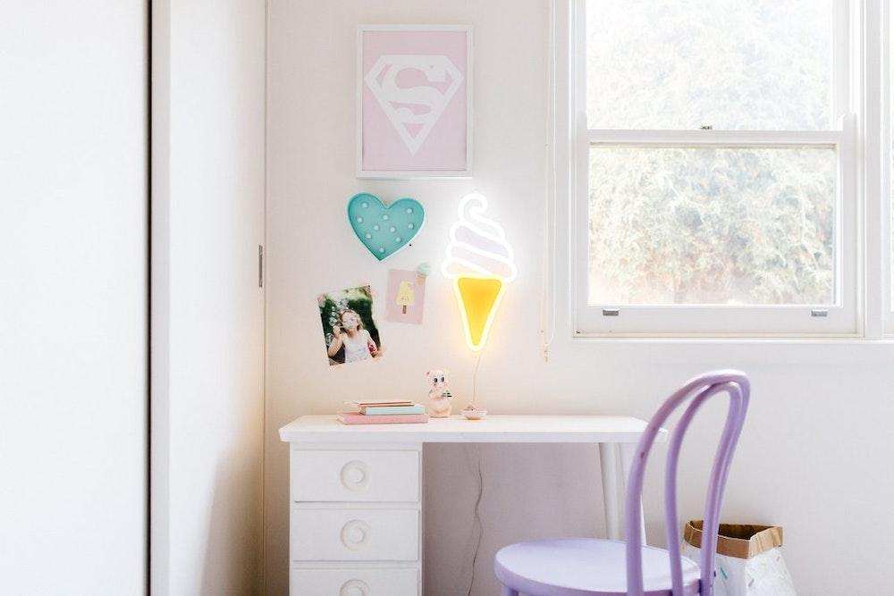 Transitional Tween Bedroom - Decoist