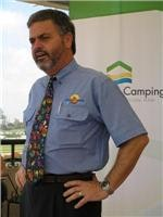Kevin Sullivan from Holiday Haven South Coast wants to lift caravan park services