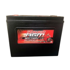 Power AGM 12V 20AH 490CCAs Motorcycle Battery