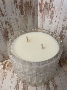 Totally Inspired Creations Vanilla Caramel Candle