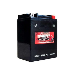 Power AGM 12V 12AH 165CCAs Motorcycle Battery