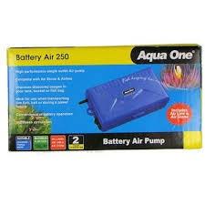 Aqua One Battery Air Pump 250 - Portable Airpump 10023