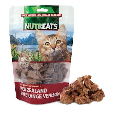 NUTREATS Venison Free Range Cat Treats 50G