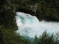 Over the top Huka Falls