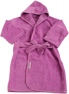 Silly Billyz Plum Organic Mini-Me Bath Robe