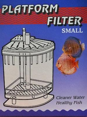 Unipet Platform Filter Small Corner Box Filter