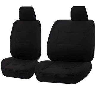 Challenger Car Seat Covers For Mazda Bt50 Up Series Single Cab 2011-2016   Black