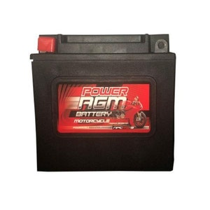 Power AGM 12V 7AH 175CCAs Motorcycle Battery