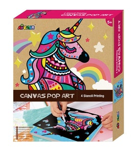 Avenir - Canvas Pop Art - Unicorn