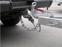 No WDH and extended safety  chain on Toyota