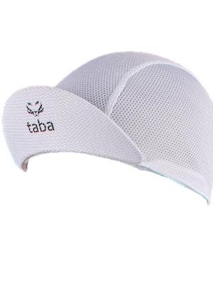 Taba Fashion Sportswear Gorra Ciclismo Malla Blanca