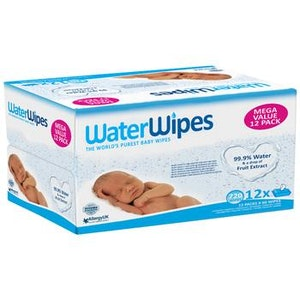WaterWipes Mega Value Box 12x60 Packs