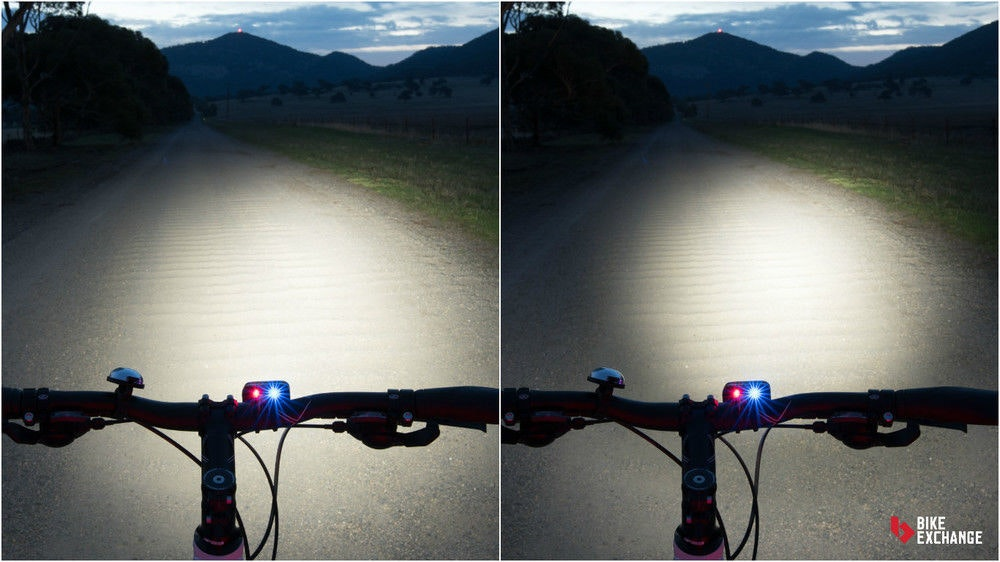 fullpage bicycle light buyers guide beam angle comparison BE