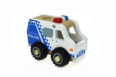 Koala Dream KD WOODEN POLICE CAR